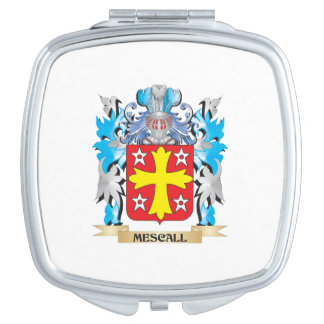 Mescall Coat of Arms - Family Crest Makeup Mirror