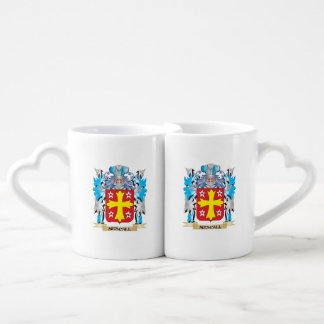 Mescall Coat of Arms - Family Crest Couple Mugs