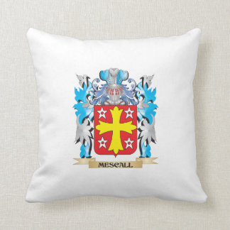 Mescall Coat of Arms - Family Crest Pillow