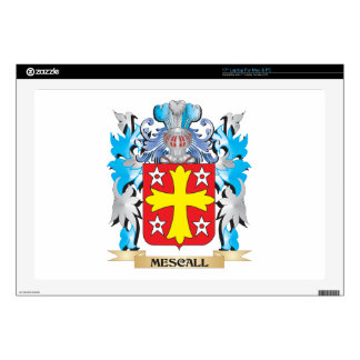 Mescall Coat of Arms - Family Crest Laptop Decal