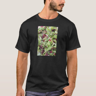 Mesclun salad mix with tongs T-Shirt