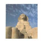 Meseta de África, Egipto, El Cairo, Giza. Esfinge Blocs De Notas