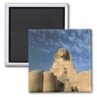 Meseta de África, Egipto, El Cairo, Giza. Esfinge Imán Cuadrado