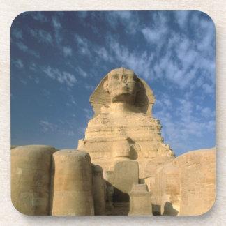 Meseta de África, Egipto, El Cairo, Giza. Esfinge Posavasos De Bebida