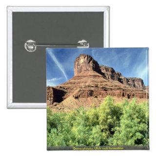Meseta de la bóveda, formación de roca de Utah Pins