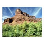 Meseta de la bóveda, formación de roca de Utah Tarjetas Postales
