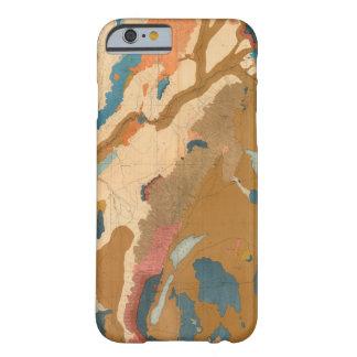 Meseta de Nevada geológica Funda Para iPhone 6 Barely There