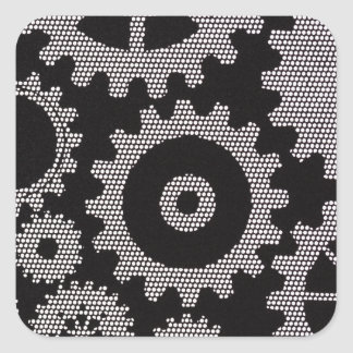 mesh gears stickers