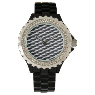 Mesh looking metal design, very cool! wristwatch