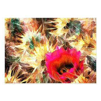 Mesh of Cactus Needles Custom Invitation