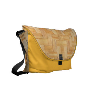 Mesh of Cane Courier Bags