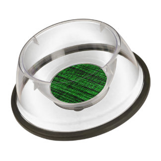 Mesh Weave Abstract green Pet Bowl