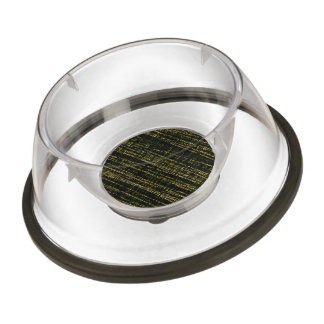 Mesh Weave Abstract tan Pet Bowl