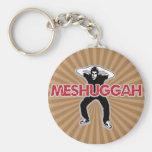 Meshugga - diseño fresco del hombre loco (humor he llavero personalizado