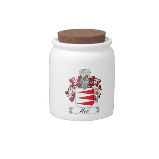 Mesi Family Crest Candy Dish