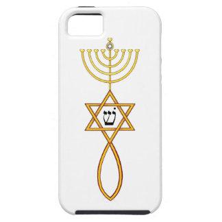 Mesiánico injertado en caso del iphone del sello iPhone 5 carcasa