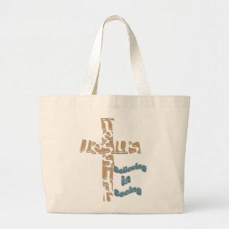 Mesías de Jesús - la creencia es ver la bolsa de a