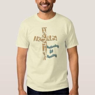 Mesías de Jesús - la creencia es ver la camiseta Polera