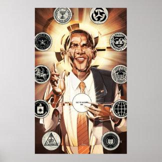 Mesías de Obama Póster