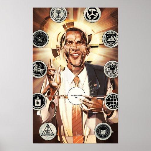 Mesías de Obama Posters
