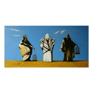Mesías entre Moses y el final de Eliah Posters