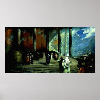 Mesías - poster (pintura al óleo de Ghenadie Sontu