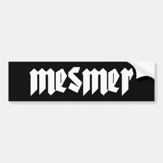 Mesmer Bumper Sticker