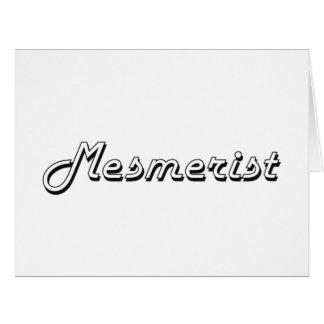 Mesmerist Classic Job Design Big Greeting Card