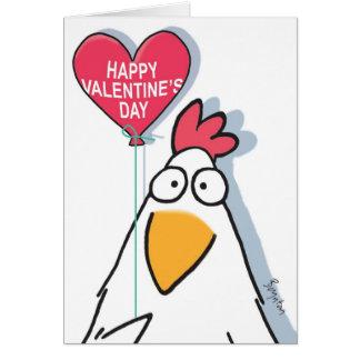 MESMERIZED CHICKEN Valentines by Boynton Card