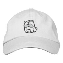 Mesmerizing Bulldog Embroidered Hat