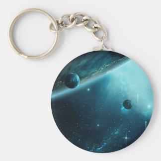 Mesmerizing Nebula Keychain