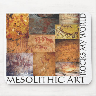 Mesolithic Art Rocks My World! Mouse Pad