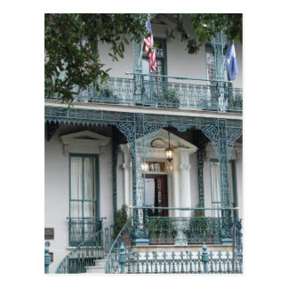 Mesón de la casa de Juan Rutledge, postal del SC