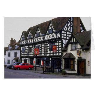 Mesón de la casa de Tudor, Warwick, Warwickshire,  Felicitaciones
