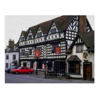 Mesón de la casa de Tudor, Warwick, Warwickshire,  Postales