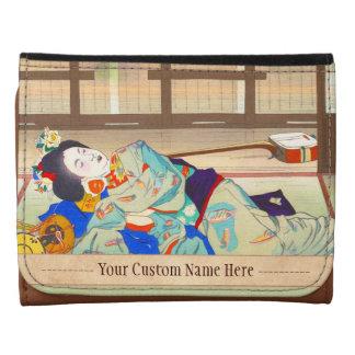 Mesón de Nakazawa Hiromitsu en la señora del japon