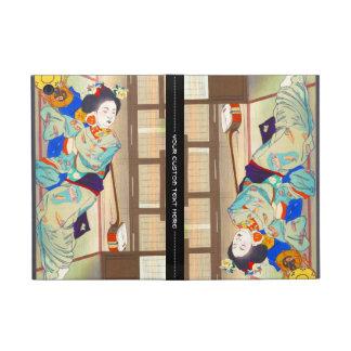 Mesón de Nakazawa Hiromitsu en la señora del japon iPad Mini Carcasas