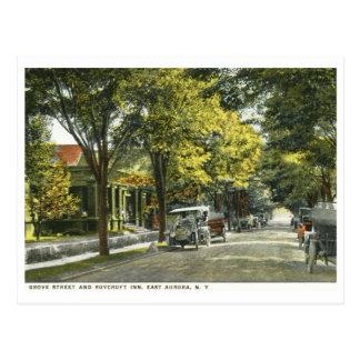 Mesón de Roycroft, aurora del este, vintage de NY Postal