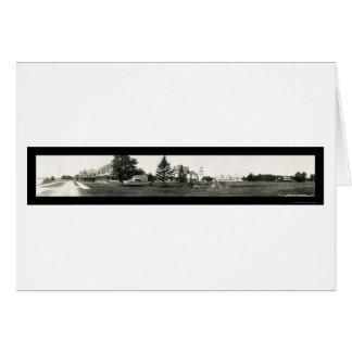Mesón de Saranac de la foto 1912 del lago Tarjeta De Felicitación
