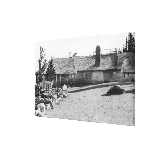 Mesón del casquillo de la nube en la capilla del M Lona Envuelta Para Galerias