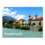 Mesón del río en Innsbruck Tarjetas Postales
