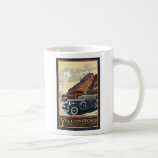 Mesón fiel viejo - parque nacional de Yellowstone Tazas