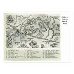 Mesones históricos en Kent del norte Tarjeta Postal
