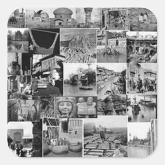 Mesopotamia AnyTime ! Square Sticker