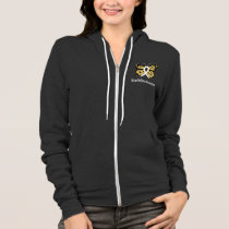 Mesothelioma Awareness Butterfly Hoodie