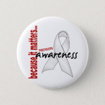 Mesothelioma Awareness Pinback Button