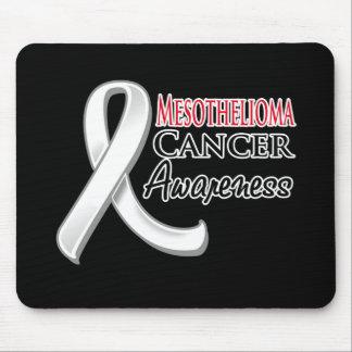Mesothelioma Awareness Ribbon Mouse Pad