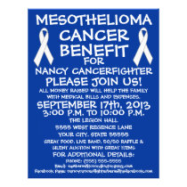 Mesothelioma Cancer Benefit Flyer