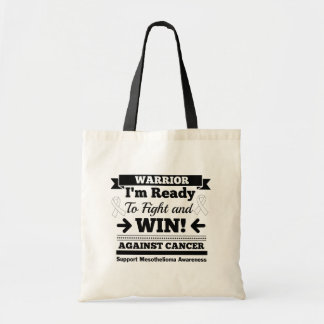 Mesothelioma Cancer Bring It On Canvas Bags