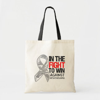 Mesothelioma Cancer - Fight To Win Tote Bags